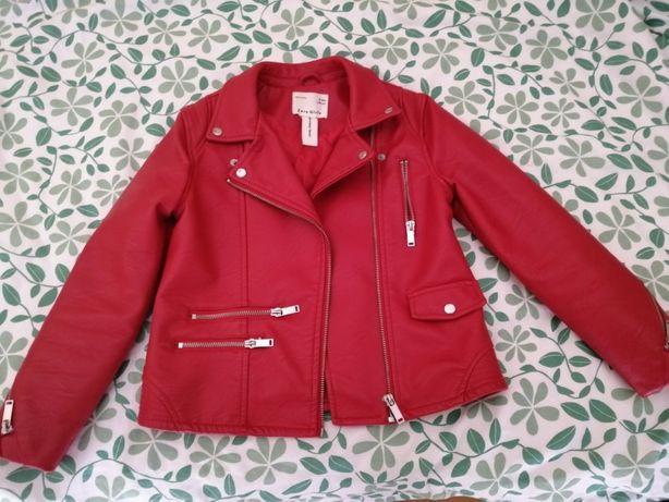 Vendo casaco em cabedal da Zara como novo