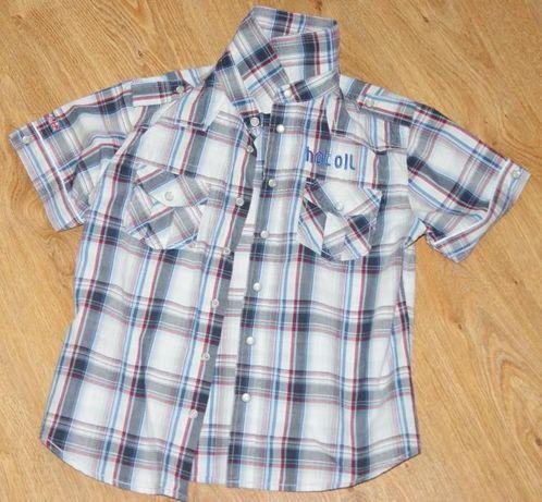 Koszula w kratę HOT OIL 134 jak nowa