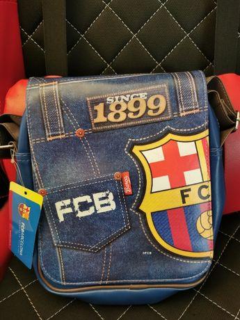 Torba na ramię Fc Barcelona z certyfikatem nowa