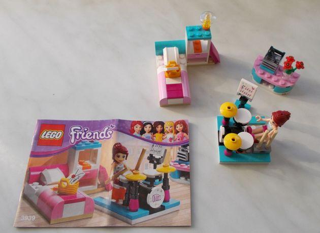 lego friends 3939 sypialnia pokój muzyczny Mii