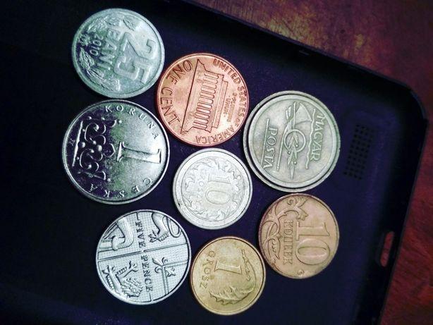 монети імпортні