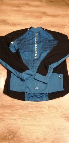 Kurtka Rowerowa PROTECTIVE 2 w 1 Bluza Koszulka Rozm L Klatka 92 cm