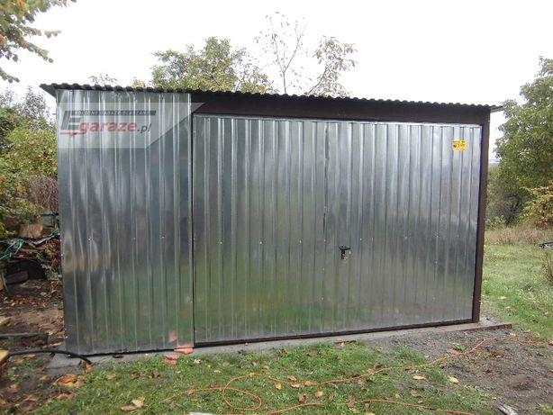 Garaż 4x6, brama podnoszona, garaż blaszany, schowek, magazyn, dostawa