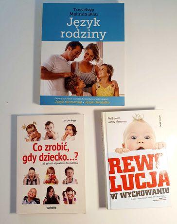Zestaw 3 książek dla rodziców