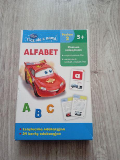 Karty do nauki literek / Disney uczy