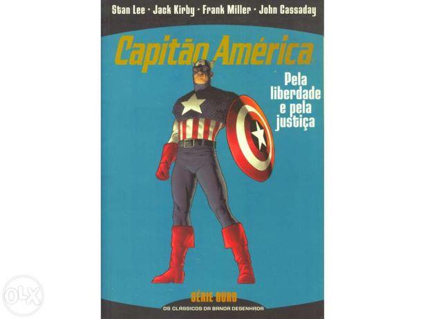 Livro BD - Capitão América