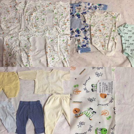 Пакет вещей для новорождённых от 0-6 месяцев