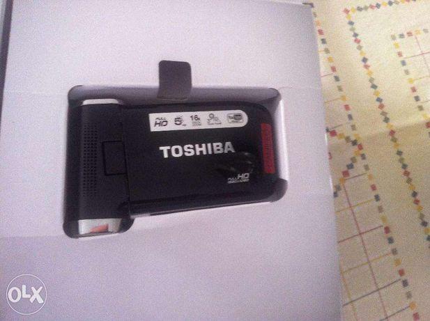 Máquina filmar toshiba-camileo p20