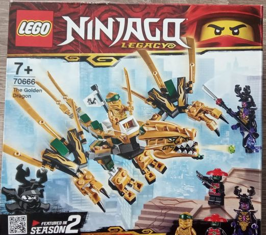 Оригинал Lego Ninjago Legacy 70666 (одна фигурока)