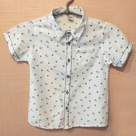 Продам летний костюм (рубашка с шортами) на мальчика 5-6 лет!