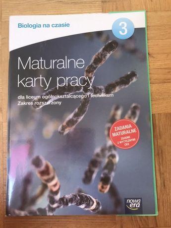 Maturalne karty pracy 3 biologia nowe