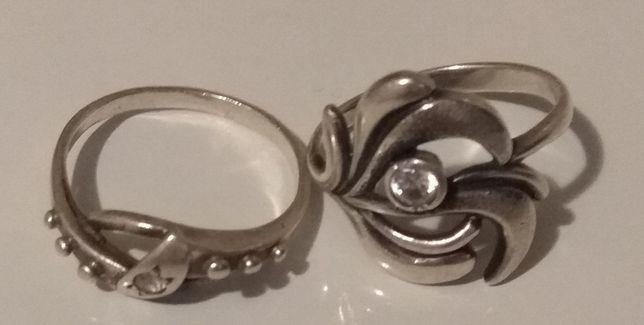 Кольца серебряные 19 р