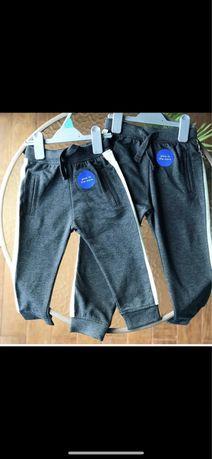 Теплые фирменные штанишки на флисе от Name it,1-1,5 г,80-86 см
