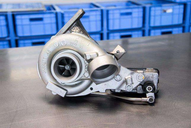 Regeneracja E46 2.0d 320d 318d 520, 122, 136km BMW turbosprężarka