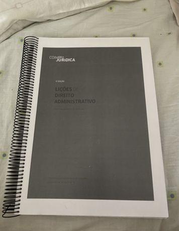 """Encadernacao do Livro - """"Lições de Direito Adminsitrativo"""""""