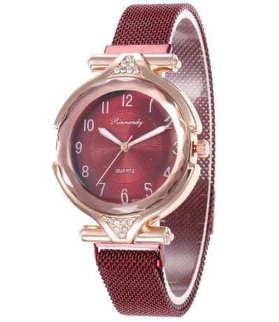 Стильные женские часы на магнитной застёжке (Разные цвета)