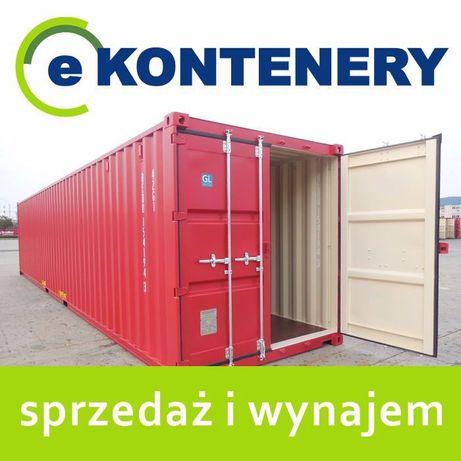 Kontener kontenery morski magazynowy 40 HC 5800 PLN
