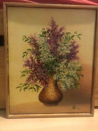 """Obraz """"kwiaty w wazonie"""""""