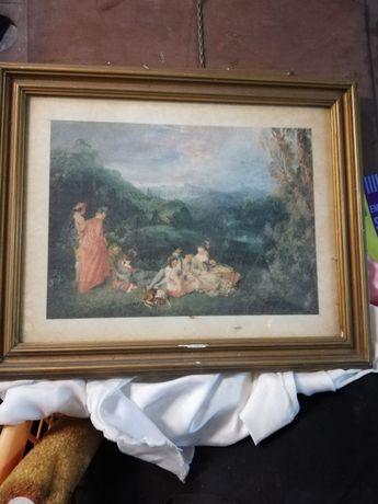 Para quem gostar de quadros antiguidade. Em excelente estado