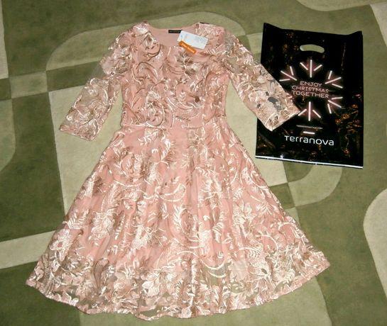 Плаття випускне на випускний кружево платье нарядное Terranova!42-44