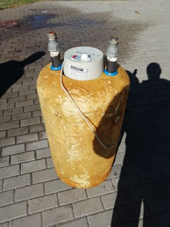 Bojler podgrzewacz elektryczny i wodny c.o. Z wężownicą