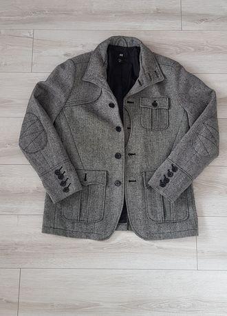 Kurtka marynarka krótki płaszcz męski H&M