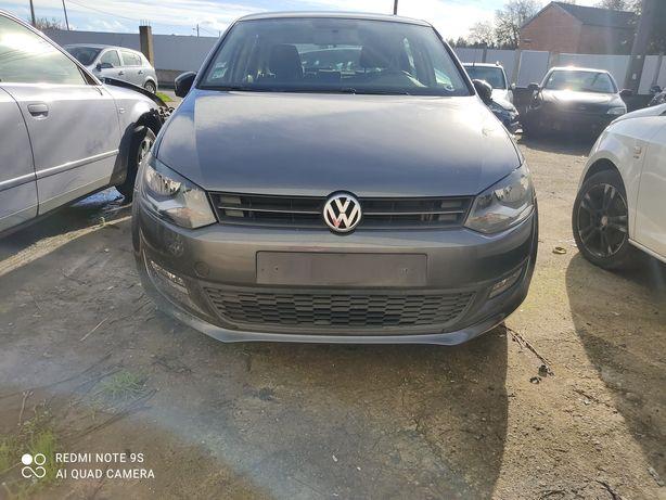 Peças VW Polo 6R 1.6tdi, frente completa, kit airbags, traseira, porta