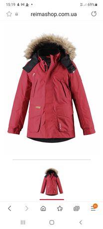 Куртка парка reima tec+ serkku 134+6 для мальчиков