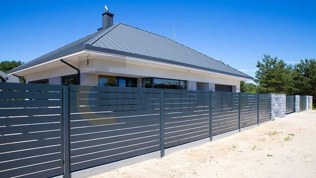 Przęsło ogrodzeniowe - panel ogrodzeniowy. Montaż ogrodzeń bram furtek