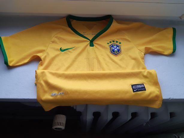 Nike bluzka piłkarska 134