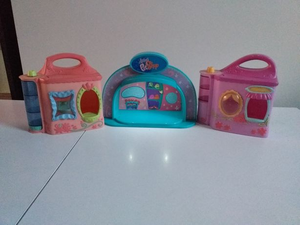 Domek  , scena lps littlest pet shop