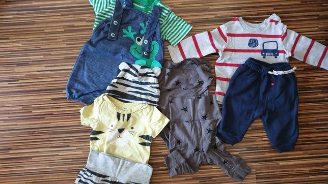Paka ubrań dla dziecka 62 68