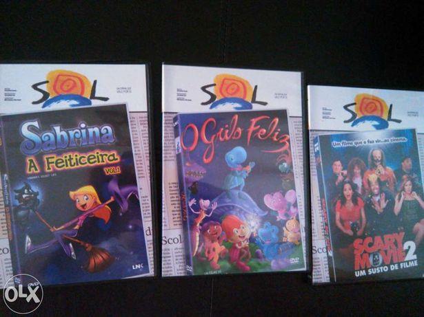 DVD histórias infantis