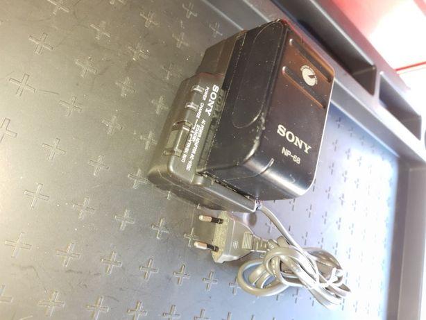 Carregador Camcorder Sony + Bateria de alta capacidade
