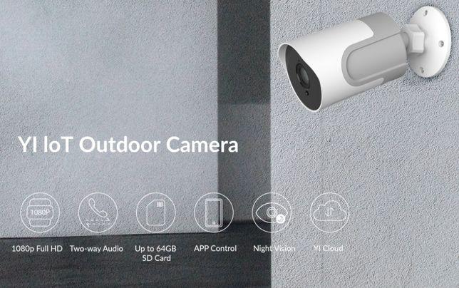 Xiaomi YI Câmera Video Vigilancia Exterior WIFI 1080P APP Android IOS