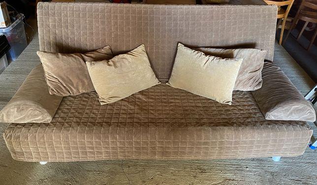 Sofa Ikea łóżko rozkładane+ poduszki
