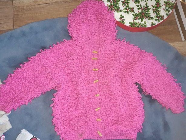 Jak nowe sweter bluza włochacz 122/128