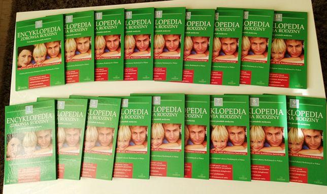 Encyklopedia zdrowia rodziny 18 tomów