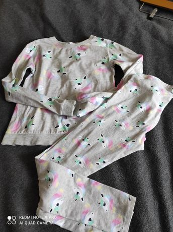 Pidżamka h&m jednorożec