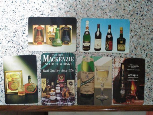 Calendários de bolso - bebidas