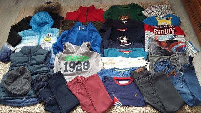 Ubrania chłopięce zestaw 6-8 lat