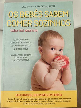Os bebés sabem comer sozinhos