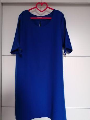 Sukienka chabrowa