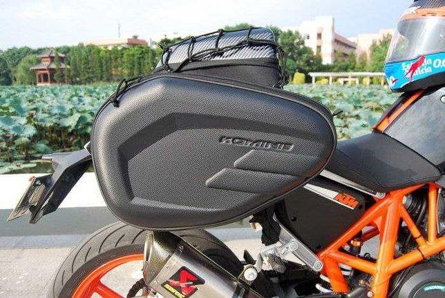 Кофры на мотоцикл сумки боковые Givi Komine ткань Oxford