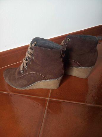 Sapato cunha - Bianca