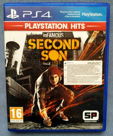 InFamous Second Son PL gra na PS4 , gry PS4