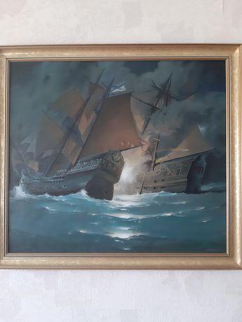 """Картина """"Корабли"""""""