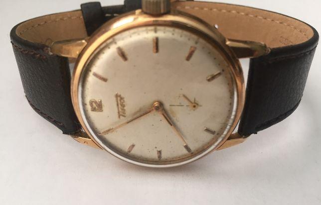 Relógio a corda manual, antigo, de coleção, Tissot