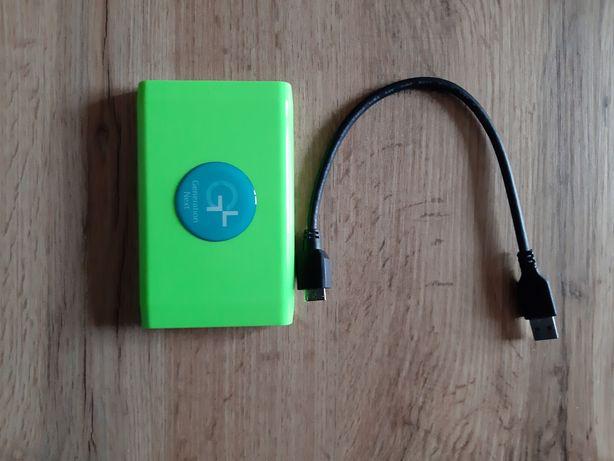 Жорсткий диск HDD 1 Tb Apacer зовнішній зелений
