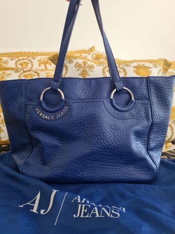 Mala Versace Jeans Azul
